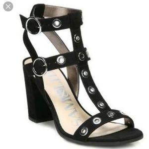 Sam & Libby Evita Grommet  Heel Sandals